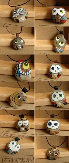 Painted Owl Rocks An Easy DIY You'll Love | The WHOot