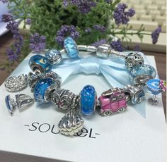 Wow , it's like someone put the ocean on your hand. It's so gorgeous ! Cool design ! SOUFEEL jewelry, for every memorable day.