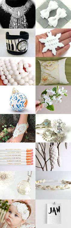 White by Sandra on Etsy--Pinned with TreasuryPin.com #holidaygifts