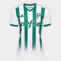 Camisa Palmeiras II 17 18 s nº Torcedor Adidas Masculina - Branco e Verde -  Compre Agora f284eedf01d1d