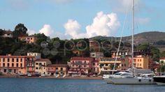 Video Clip Of Porto Azzurro, Elba Island - Stock Footage | by eZeePicsStudio