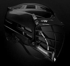 Protective Gear 62164: Cascade Cpvr Lacrosse Helmet All Black With Black Mask Adult Small/Medium -> BUY IT NOW ONLY: $149.99 on eBay!