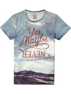 Camiseta con estampado fotográfico | Camiseta de manga corta | Ropa para niño en Scotch & Soda