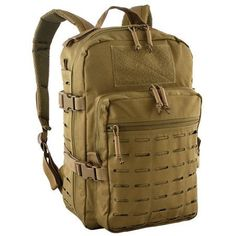 Red Rock Outdoor Gear Transporter Day Pack - Coyote, One-Size Tactical Sling, Tactical Survival, Tactical Packs, Tactical Gear, Tactical Backpack, Survival Prepping, Survival Gear, Wilderness Survival, Survival Fishing