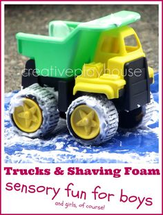 Trucks and Shaving Foam