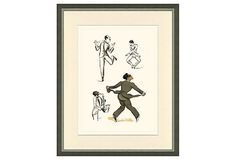 French Dancers Print V on OneKingsLane.com