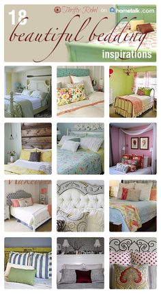 Gorgeous bed makeovers.