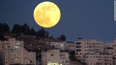 """SIGNS IN THE HEAVENS:What's better than a """"supermoon""""? Three Supermoons!The full moons of summer this year — July 12, August 10 and September 9 — will all be Supermoons, as NASA calls them.The phenomenon happens when the moon becomes full on the same day as its perigee — the point in the moon's orbit when … Continue reading »"""