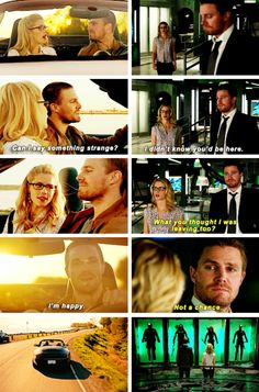 Arrow - Felicity & Oliver #3.23 #4.23 #Olicity <3<3<3