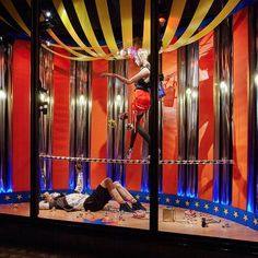 "HARVEY NICHOLS, London, UK, ""A Day at the Circus"", pinned by Ton van der Veer"