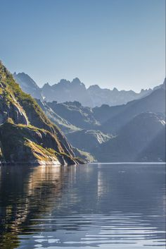 Carved by glaciers from the last ice age, the fjords of Norway are UNESCO World Heritage sites. The Norwegian Fjords Places To Travel, Places To See, Norway Landscape, Norway Fjords, Road Trip, Norway Travel, World Heritage Sites, Alaska, Travel Inspiration