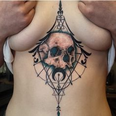 sternum tattoo (66)