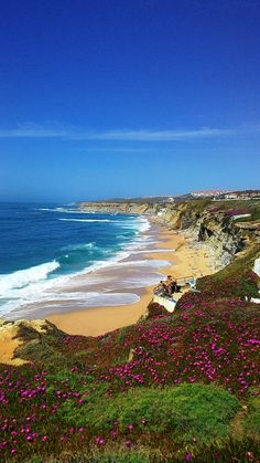 Long Atlantic coast line in exciting Portugal