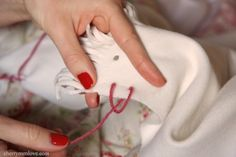 How-to: Sew A Blanket Stitch