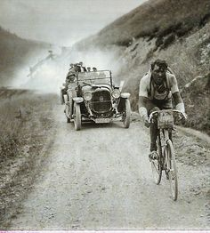 bicycle | cyclist | history | tour de france ?? | vintage | sepia photography