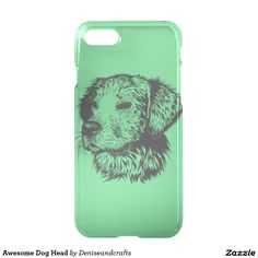 Awesome Dog Head iPhone 7 Case