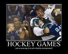 Canucks hockey, fun for the *entire* family ; Hockey Rules, Hockey Mom, Ice Hockey, Hockey Stuff, Sports Fails, Sports Memes, Funny Hockey Memes, Canada Hockey, Hockey Gifts