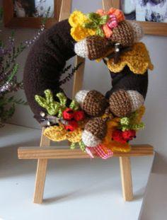 october wreath..