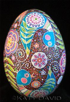 Friday Egg: Blue Bird Swirl | Flickr - Photo Sharing!