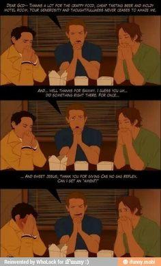 ... Woah Dean... too far...