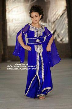 احلى موديلات القفطان المغربي للبنوتات الصغار جديد | الخياطة التقليدية المغربية