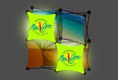 Xpressions Salesmate LED Light Panel Displays make great sales presentation visuals