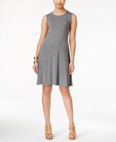 Style & Co. Sleeveless Shift Dress, Only at Macy's   macys.com
