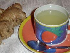 Chá de Gengibre com Mel