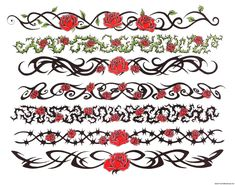 Tattoo band designs for your neck Flash Art Tattoos, Body Art Tattoos, Tatoos, Skull Tattoos, Tribal Tattoos, Sleeve Tattoos, Bracelet Tattoo For Man, Tattoo Band, Bracelet Tattoos