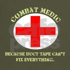 Combat Medic T-Shirt | CafePress.com