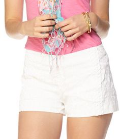 Lilly Pulitzer Liza Short in Resort White