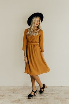 My Whole Heart Embroidered Dress | ROOLEE  #ROOLEEfave