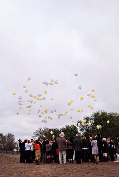 Another balloon release