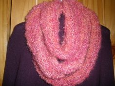 Infinity scarf hand knitted
