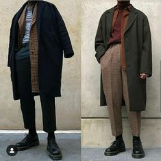 Looks Dark, Looks Cool, Mode Outfits, Fashion Outfits, Womens Fashion, Fashion Trends, Edgy Mens Fashion, Fall Outfits, Androgynous Fashion