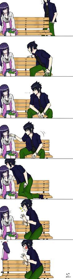 Sasuhina | sasuke and hinata Sleeping Beauty by fhclause