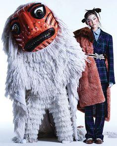 Yoo Young Kyu – Korean mask editorial for Vogue Korea, 2017 Korea Fashion, Asian Fashion, Fashion Art, Editorial Fashion, Fashion Design, Chinese Fashion, Mens Fashion, Vogue Korea, Vogue Spain
