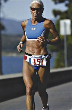70 yr old Ironman finisher! Respect