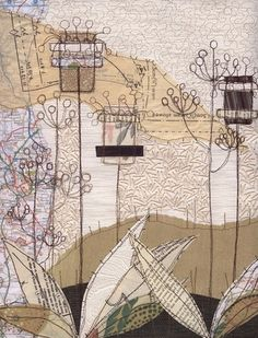 Anne Brooke - Mixed-Media Map Embroidery