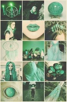 Amazonite Witch aesthetic