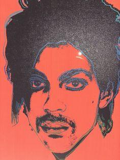 Orange Prince by Andy Warhol. Magritte, Norman Rockwell, Mondrian, Kandinsky, Renoir, Matisse, Monet, Warhol Paintings, Pop Art