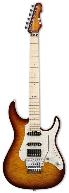 ESP E-II ST-1 QM Series Electric Guitar