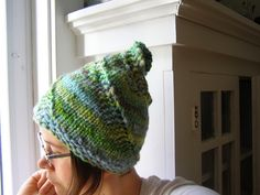 handspun spiral hat by cosymakes, via Flickr