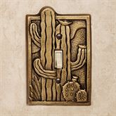The Cactus Garden Southwest Switchplates are a charming way to add Southwestern flair to your home decor. These handcrafted aluminum switchplates. Switch Plates, Solid Brass, Antique Brass, Cactus, Antiques, Garden, Home Decor, Antiquities, Antique