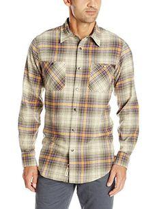 YUNY Men Non-Iron Plaid Casual Tops Business Comfortable Sport Shirt Grey XL