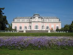 Schloss Benrath, Dusseldorf, Germany - Built starting in 1755 by Charles Theodore, Elector Palatine.