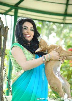 Actress Kavya Singh Latest Saree Stills