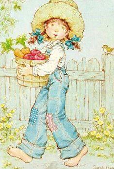 Illustrations vintage de Sarah Kay