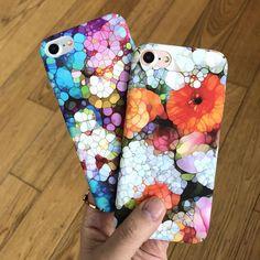 Flower Art Phone Cases For iPhone X / 8 / 7 / 6 Models – SaviCat