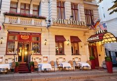 An Art Nouveau hotel on a quiet street in Berlin, including breakfast and an optional dinner